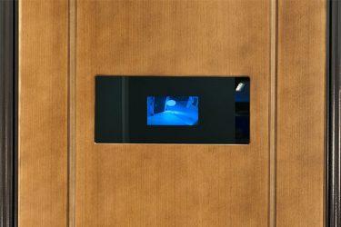 Входные двери с видеоглазком